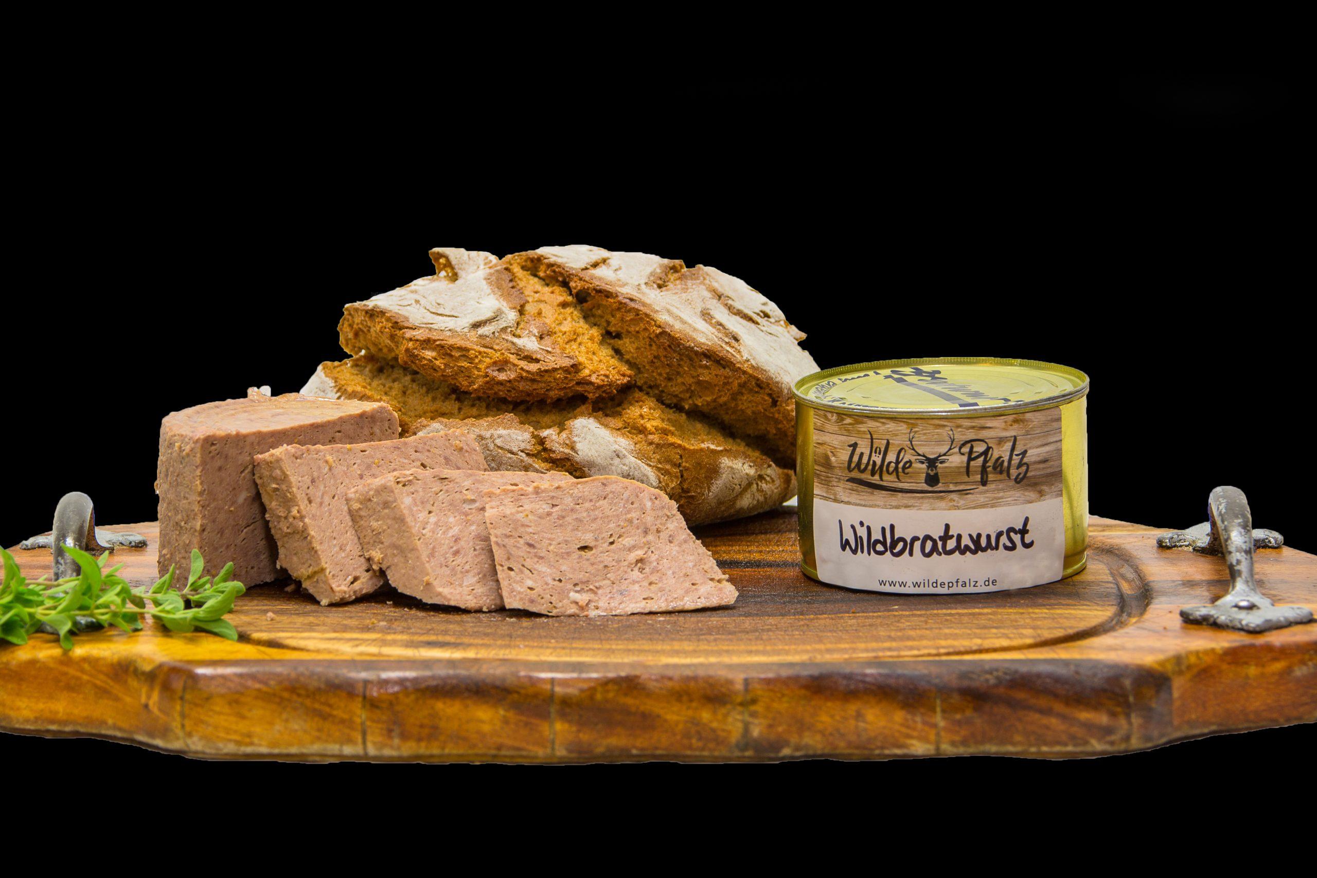 Wild-Bratwurst halbgrob